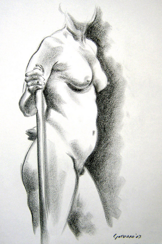 David Gothard - Life Drawing