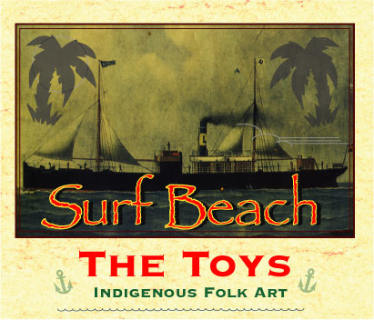 Chris Spollen - Tin Can Art from Surf Beach