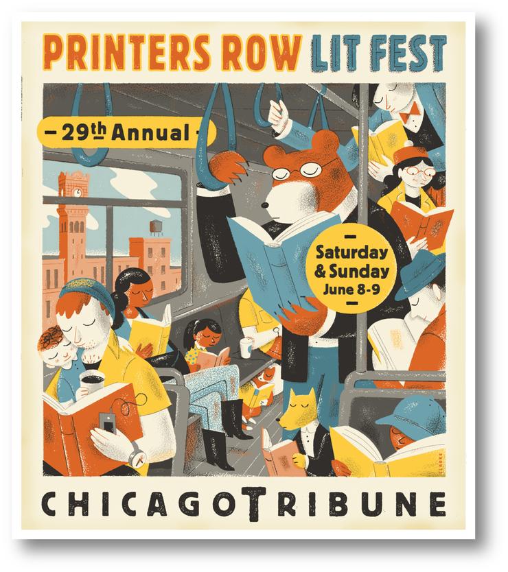 Chicago Lit Fest Poster