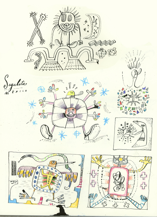 Hal Mayforth - Holiday Sketchbooks