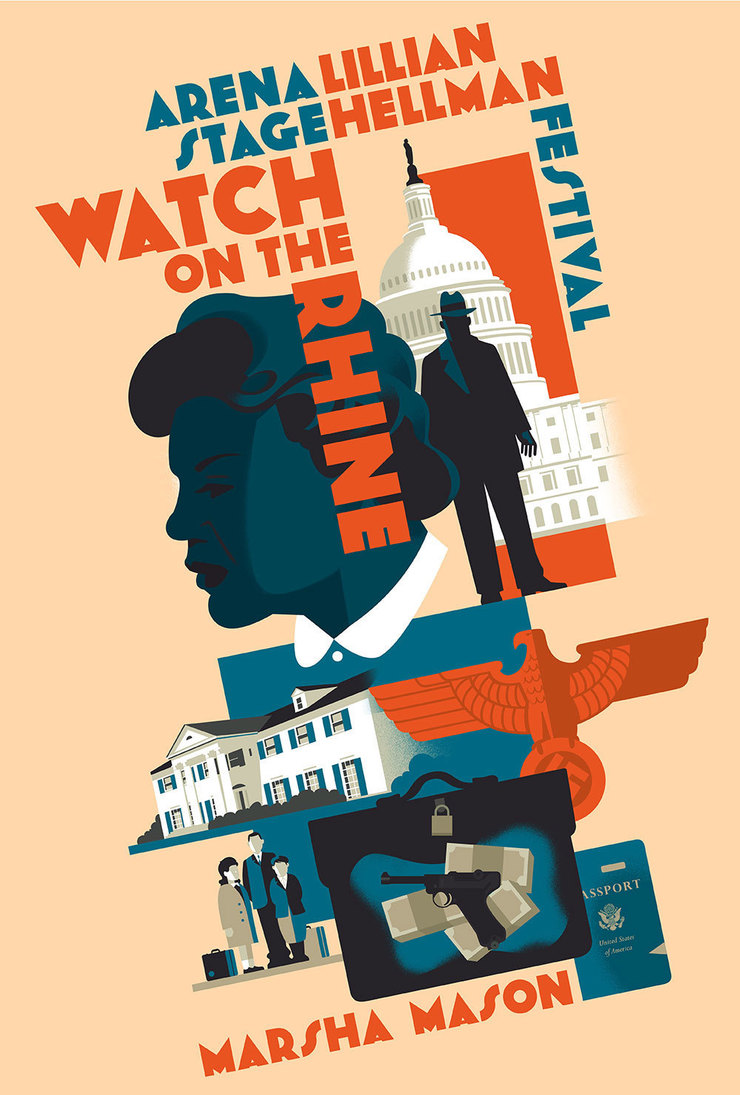 Watch on the Rhine Theater Poster