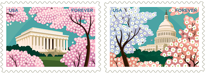 USPS Gifts of Friendship Forever Stamps