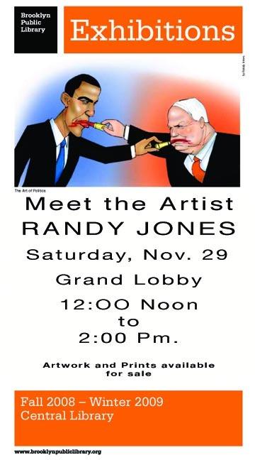 Randy Jones at Brooklyn Public Library