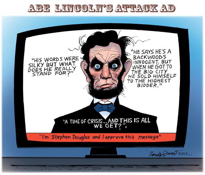 Abe Lincoln's Attack Ad