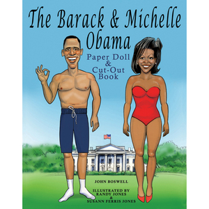 The Barack and Michelle Obama Paper Doll and Cut-Out  Book published by St. Martin's Press