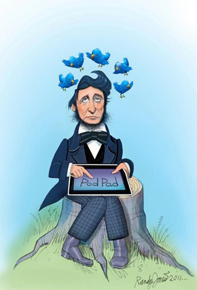 Chatting with Thoreau
