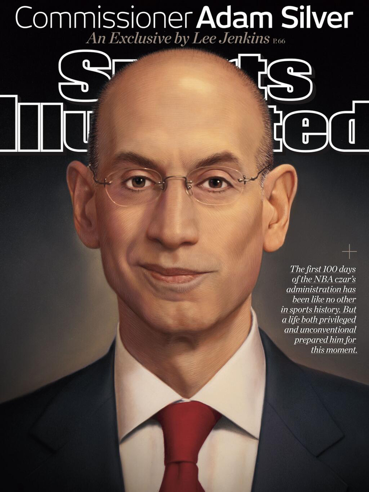 Adam Silver for Sports Illustrated