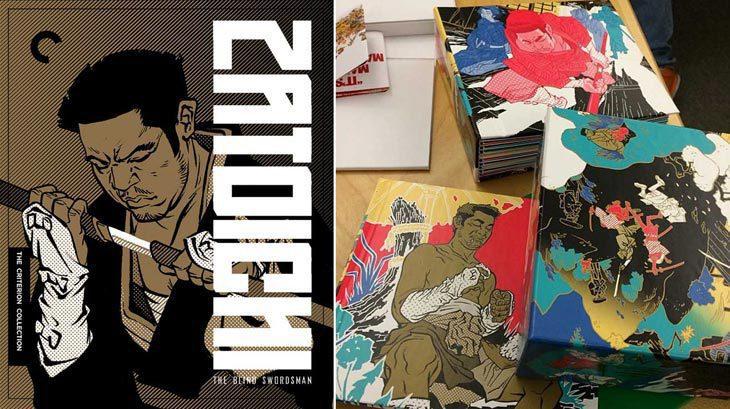 26 illustrators for Zatoichi box set