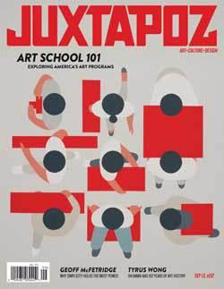 life after art school, now what? conversation on JUXTAPOZ